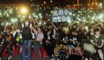 「香港危城告急,十月公民抗命」 數千人現場聲援