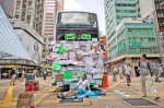 《TAIPEI TIMES 焦點》 Hong Kong protesters stockpile supplies