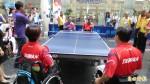 坐輪椅打桌球 傑人盃5日開打