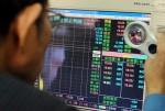台股收盤下跌15.07點