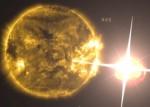 NASA錄到超大型耀斑 這張圖你看到...!
