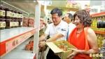 林佳龍邀企業 捐食銀7500罐頭