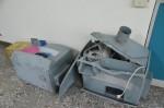 不滿遭測速器拍照 用挖土機推倒測速器 遭起訴