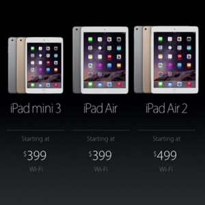 超越以往輕薄!Apple 推出 iPad Air 2 與 iPad Mini 3 新平板