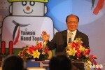 胡志強出席台灣五金展 誇口「會繼續連任」
