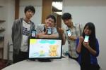 手機變畫筆 清大學生研發畫圖APP利器