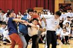 雲門2巡迴校園 學子即興共舞