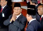 印尼總統就職大典 政敵現身大和解
