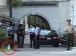 男子怨法院核發保護令 載汽油到總統府陳情