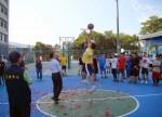南開科大尬籃球 讓學生遠離毒品和菸害