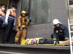 北市老翁墜落工地二樓平台 暫無生命危險