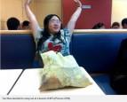 中國女被拋棄 一週吃喝拉撒全在肯德基