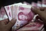 中國外匯存底 降千億美元