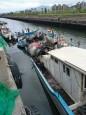 水泥預拌車跌入台北港區 所幸無人傷亡