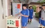 新豐高中真普選 票選學生會主席