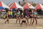 全民運女子沙灘手球吸睛 門票賣光