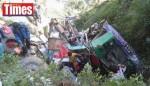 尼泊爾巴士墜谷 造成14死50傷