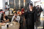 竹北餐廳過萬聖節 免費「妖魔化」來客