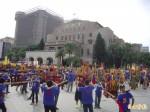 慶祝台灣光復 中華統一促進黨舉辦踩街遊行