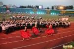 全民運開幕 施放2400顆氣球向雷虎小組致敬