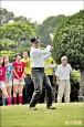 〈球賽揮桿〉林佳龍:推廣體育外交