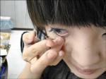 水洗隱形眼鏡 國中生感染失明