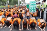 《TAIPEI TIMES 焦點》 Toll protesters mock government