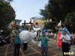 竹市動物嘉年華踩街 珍古德三度造訪