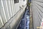 大里大明路/水溝淤積害淹水 水利局、國產署互踢皮球