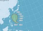 第20號颱風 輕颱鸚鵡下午形成