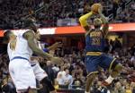 NBA》詹姆斯回騎士後首賽吞敗 失誤太多