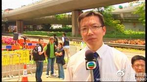 TVB秋後算帳 助理採訪主任何永康被調職