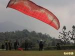 埔里飛行傘國際公開賽 70多名好手較勁