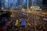 香港佔中抗議 傳統媒體新聞真實性受質疑