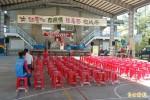 台東縱谷首場公辦政見會 選務人員比聽眾多