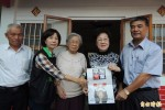 呂秀蓮探扁媽 呼籲馬對人民反省與道歉