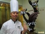 埔里35歲西點師傅蔡佳峰 獲台灣巧克力賽冠軍