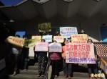 抗議新法倉促上路 保母自救會赴竹市府陳情