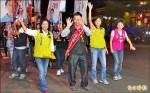 《屏東選舉》屏市大掃街 綠 蘇貞昌帶頭 藍 遊行握手