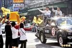 林佳龍固票 回防市中心喊正向選舉