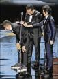 《年度台灣傑出電影工作者》魏德聖搗蛋 黃志明先簽帳單再領獎