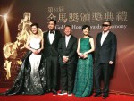 《TAIPEI TIMES 焦點》 Stars flock to Taiwan for Golden Horse Awards