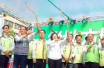 《TAIPEI TIMES 焦點》 KMT, DPP gear up for final campaign rallies