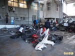 破獲機車竊盜集團 警方夜襲逮3嫌。