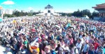 《TAIPEI TIMES 焦點》 Ko's Taipei parade draws thousands