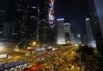 香港佔中近2月 旺角明將清場