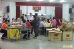 台東各公所領選票 員警戒護
