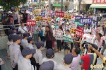 國民黨屏縣黨部不滿主委被收押 率眾抗議