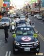 林佳龍海線車隊掃街 民眾熱情支持