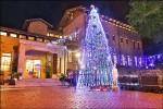 黃金館耶誕樹 山城點燈